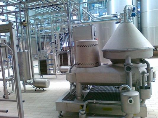 processamento de leite